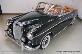 1959 Mercedes Benz 220S Cabriolet small