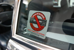 Mercedes 560SL label