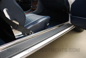 Mercedes 560SL entry sill pad
