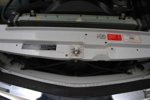 Mercedes 560SL original core support
