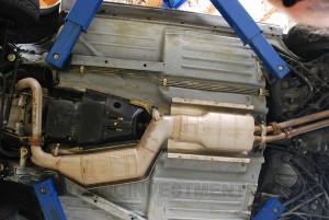 Mercedes 560SL original floor pan