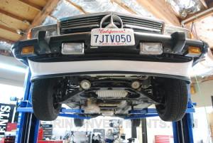 Mercedes 560SL original undercarriage