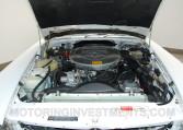 Image: Engine bay, Mercedes 560SL, original