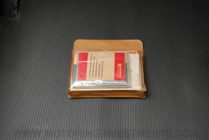 Mercedes 280SL owner's manual pouch