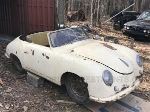 1952 Porsche 356 Heuer Glaser Cabriolet chassis 12305