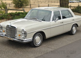 W109 1967 Mercedes 300SEL in #158 white-gray