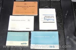 W113-280SL-manuals