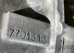1970-Porsche-911T-mTransmission-Number-4