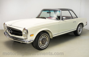 1971-Mercedes-280SL-Exterior-1