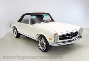 1971-Mercedes-280SL-Exterior-22