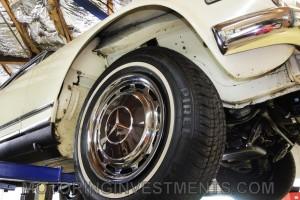 1971-Mercedes-280SL-Undercarriage-15