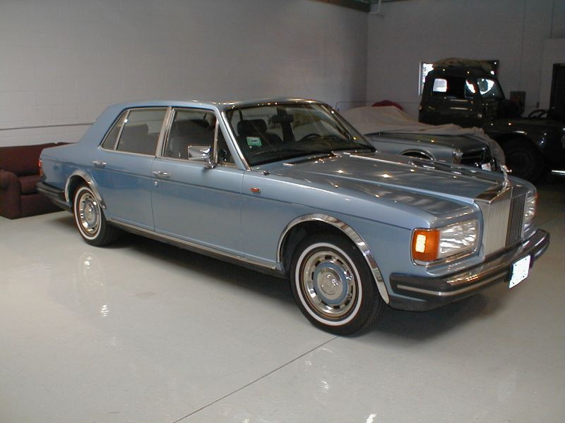 1981 Rolls Royce Silver Spirit for sale at Motoring Investts.