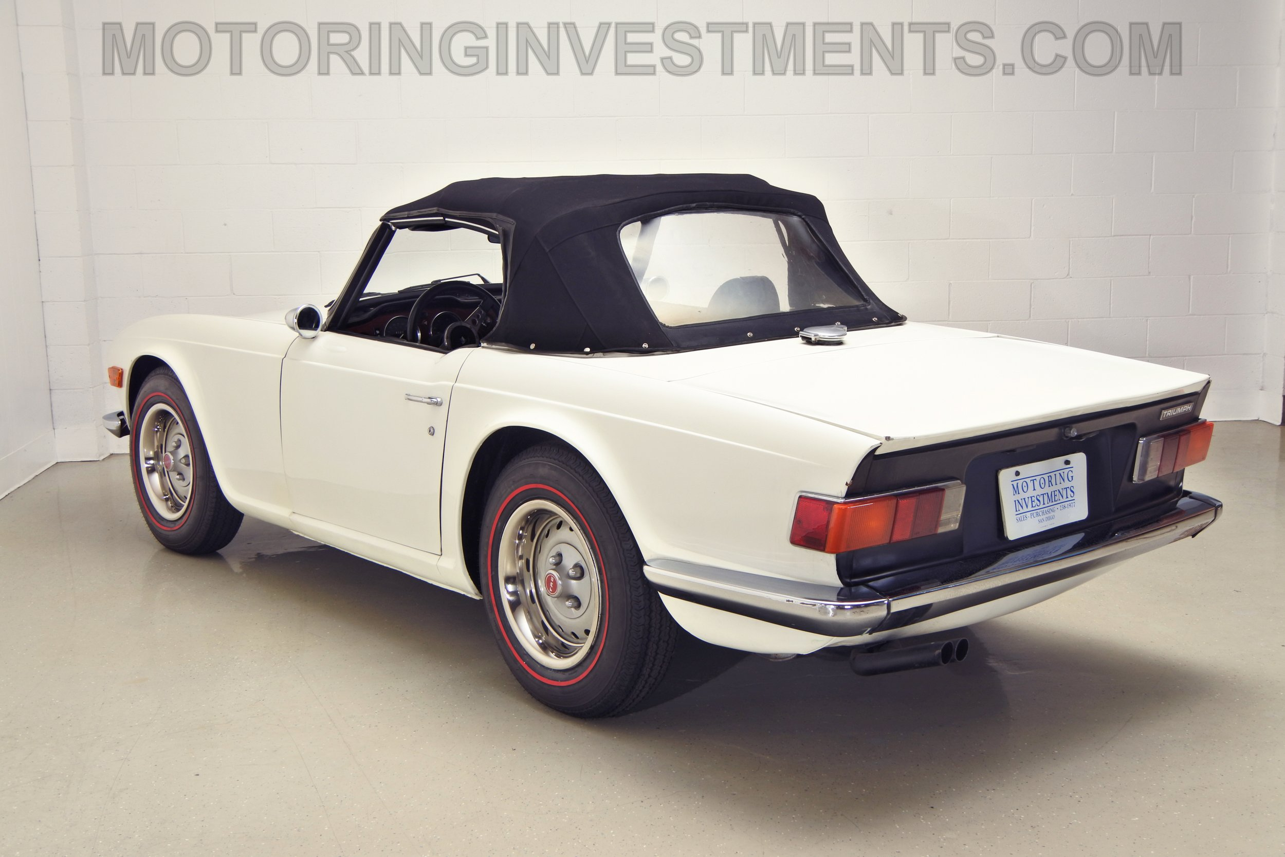 1973 Triumph TR6 - Motoringinvestments com